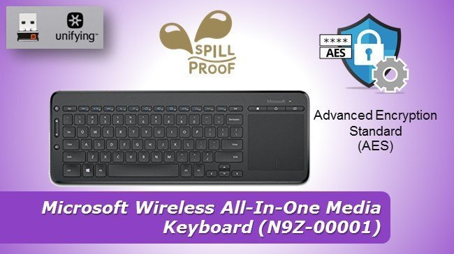 Microsoft Wireless All-In-One Media Keyboard review 2019