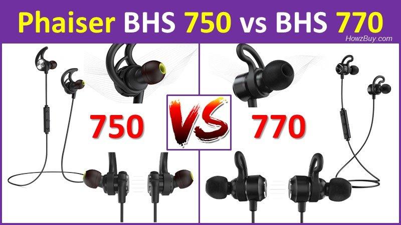 Phaiser Strobe BHS 750 vs Phaiser Vortex BHS 770