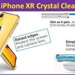 Cheap Apple iPhone XR Crystal Clear Case