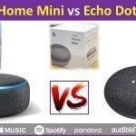 Google Home Mini vs Amazon Echo Dot Review and comparison of specs