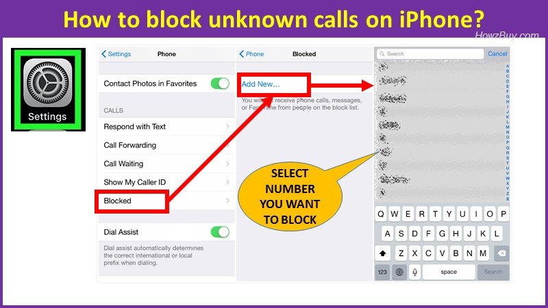 How to block unknown calls on iPhone guide?