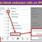 How to unblock unknown calls on iPhone guide?
