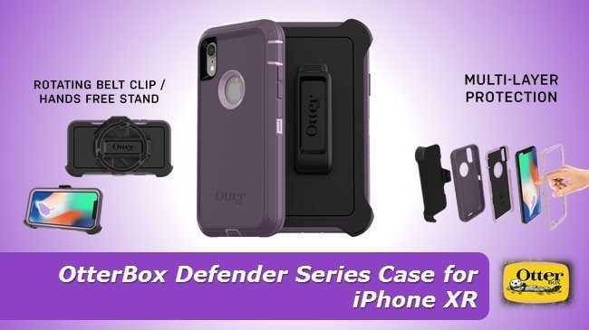 OtterBox Defender Series Case for iPhone XR review $50