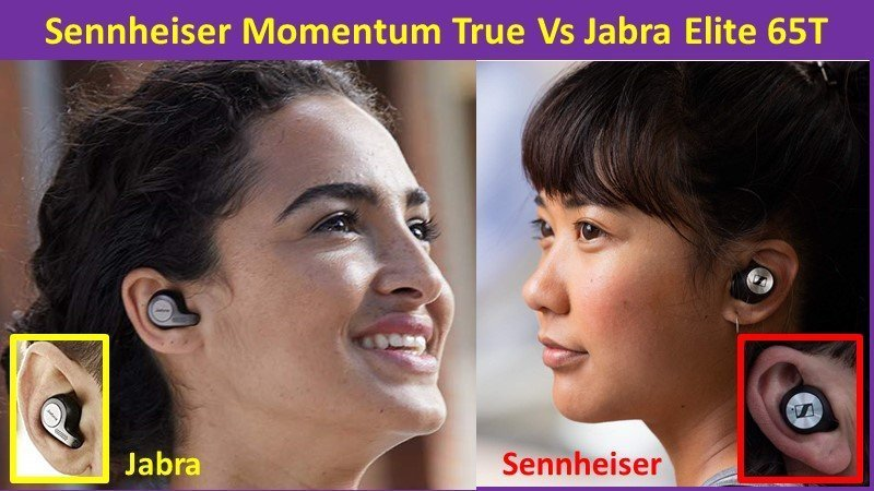 Sennheiser Momentum True Wireless Vs Jabra Elite 65T compare and review specs