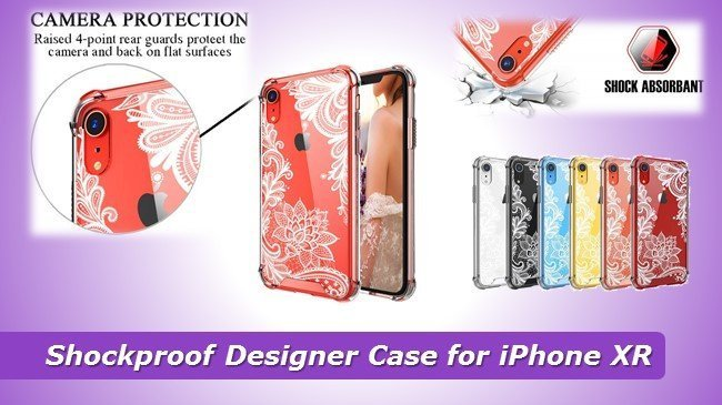 cheap Shockproof Designer Case for iPhone XR