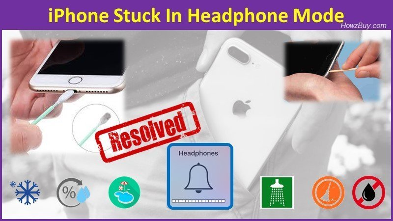 iPhone Stuck In Headphone Mode easy fix