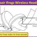 How to pair Ifrogz Wireless Headphones?