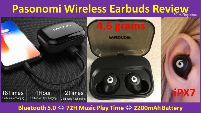 Pasonomi Wireless Earbuds Review