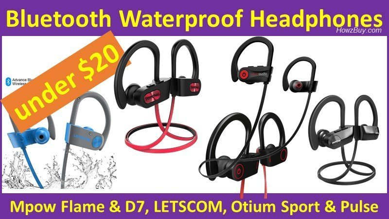 The 5 Best Bluetooth Waterproof Headphones you can get this week for under $20