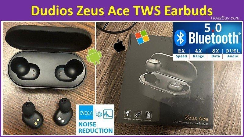 Dudios Zeus Ace TWS Earbuds hands on review