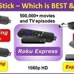 Best Roku Sitck 30 to 80 dollars Roku Express vs Roku Premiere vs Express+ vs Streaming Stick vs Streaming stick+ vs Ultra