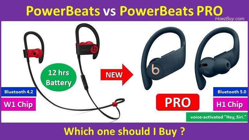 PowerBeats vs PowerBeats PRO - Which one should you buy