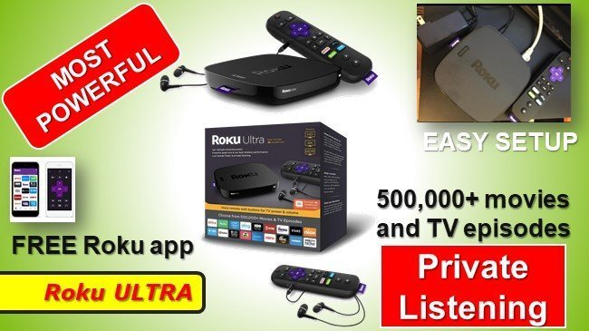 Roku ULTRA Stick review private listening