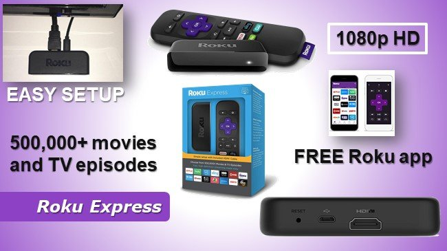 Roku express review and comparison - which is best Roku stick