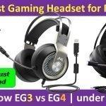 Best Gaming Headset for PS4 Mpow EG3 vs EG4 - under $30