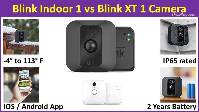 Blink Indoor 1 vs Blink XT 1 wireless Camera - which one should you buy and why - complete product review