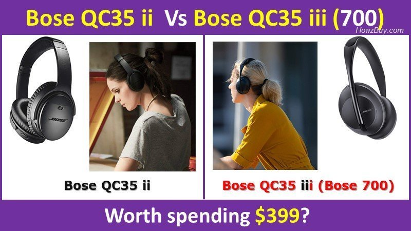 Bose QC35 ii Vs Bose QC35 iii (700) review