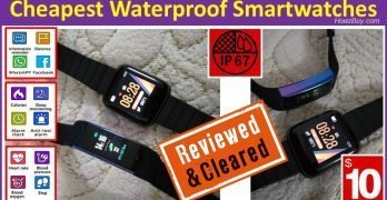 Cheapest & Best Waterproof Smartwatches for $10