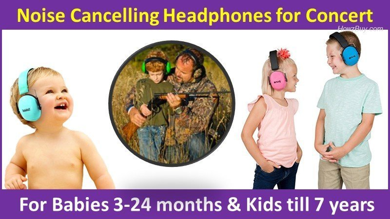 Noise Cancelling Headphones for Concert