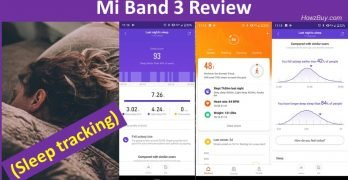 Mi Band 3 Review sleep tracking feature