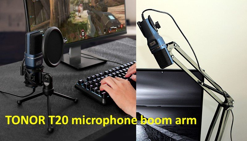 TONOR T20 microphone boom arm