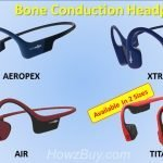 AfterShokz Titanium Trekz vs. Air vs Aeropex vs Xtrainerz Bone Conduction Headphones Specs Comparison