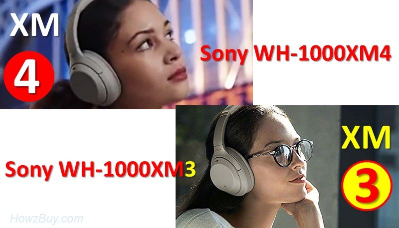 Sony WH-1000XM3 Vs WH-1000XM4 specs and feature comparison