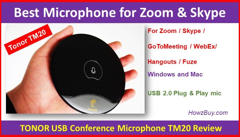 Best Microphone for Zoom & Skype